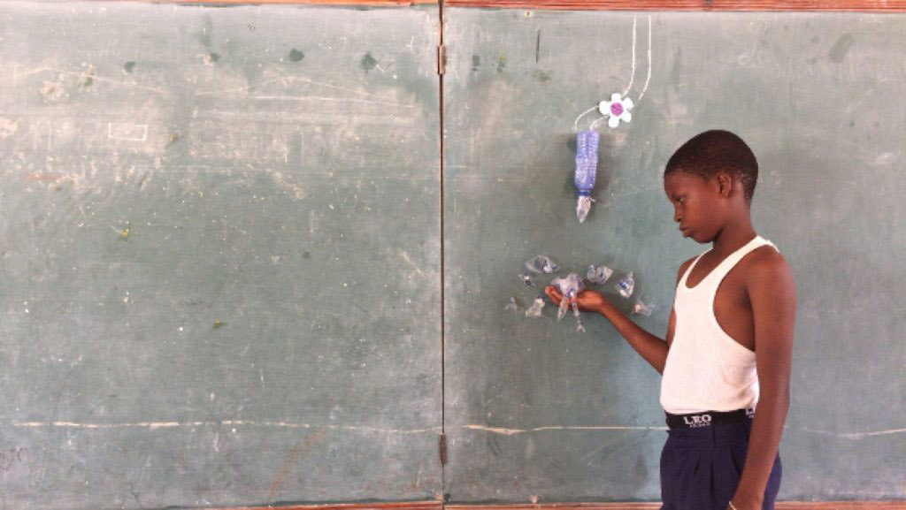 Haiti Tablo A / The Blackboard